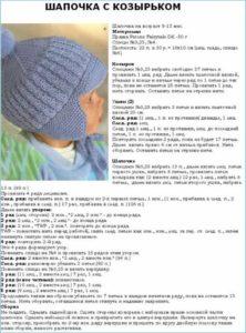 Голубая шапка