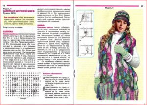 Шапка и шарф 7