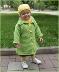 Пальто для малышки2