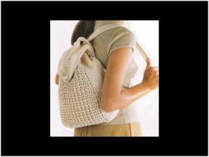 Девушка с рюкзаком