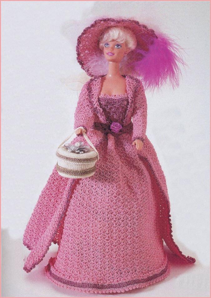 Дама в розовом