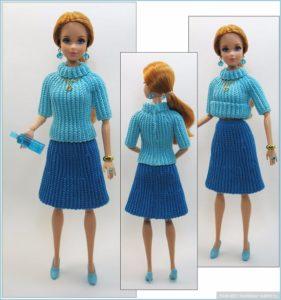 Красивая кукла2