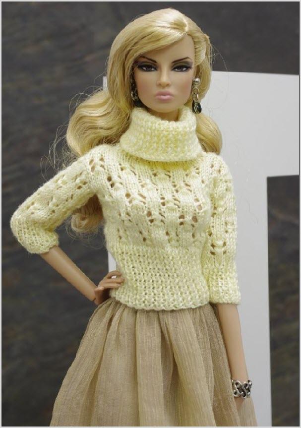 Барби в свитере
