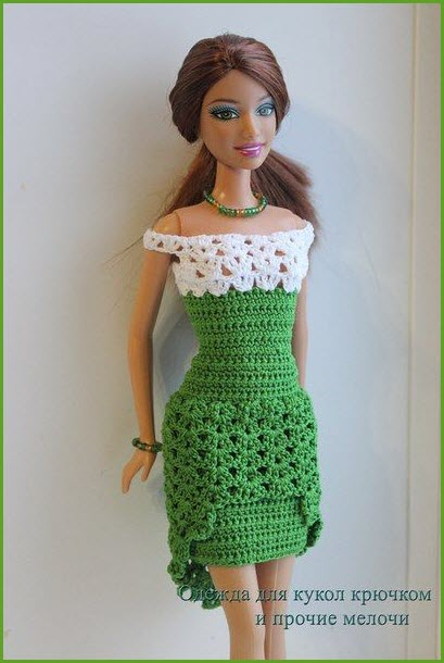 Барби в платье2