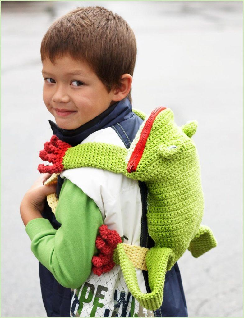 Рюкзак лягушка