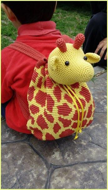 Рюкзак с жирафом
