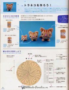 Котята амигуруми