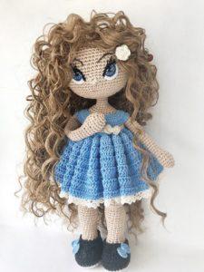 Кукла амигуруми7