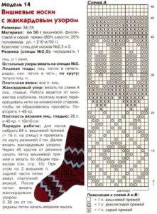 Красные носки5