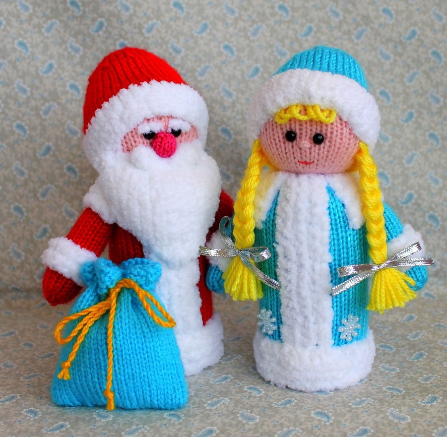 Дед Мороз со Снегурочкой 17