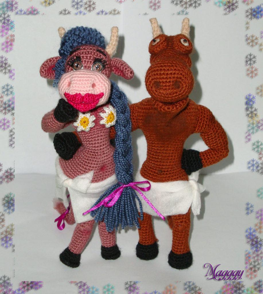 Бык и корова12