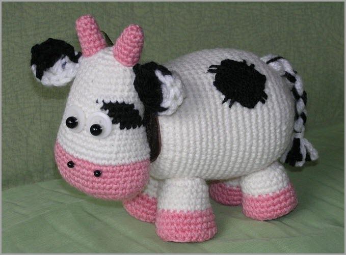 Пятнистая корова 6