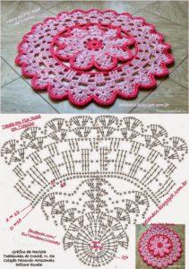 Розовый коврик 7