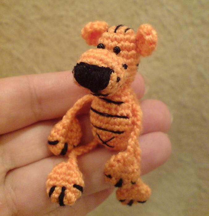 Игрушечный тигр7