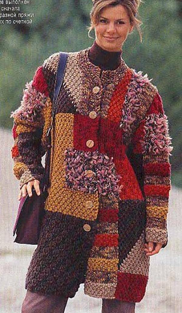 Яркое пальто 15