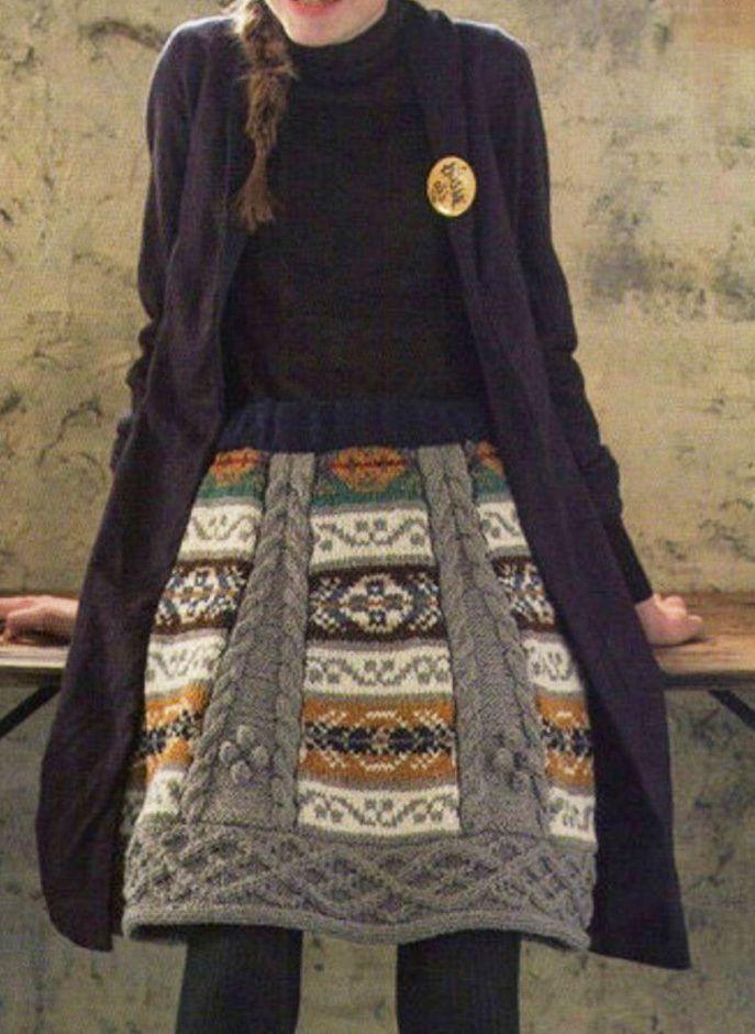 Красивая юбка 20