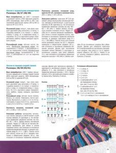 Носки крючком 10